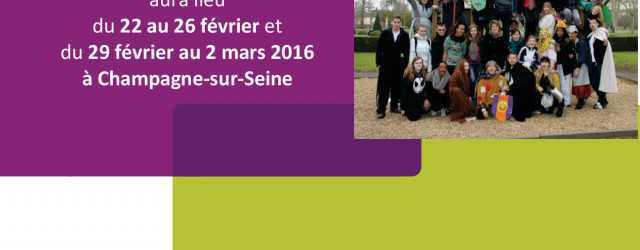 Une formationapprofondissement BAFA aura lieudu 20 au 21 octobre 2016 etdu 24 au 27 octobre 2016(soit 6 jours) au centre social Moret Seine & Loing 98 Rue Grande 77430 CHAMPAGNE […]