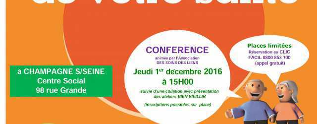 """Dans le cadre de ses missions de Prévention, le Centre Social Moret Seine Loing vous propose de participer à : Une conférence sur la mémoire """"Donner du Peps à vos […]"""