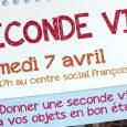 Samedi 7 avril de 11h à 17h au centre social Françoise Dolto ! (Entrée par l'entrée principale). Cette journée sera dédiée à donner une seconde vie à vos objets. De […]