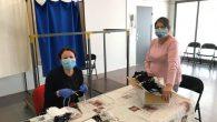 Atelier de fabrication de masques (photos en pièce jointe). Appels des familles du CLAS, des ateliers parents enfants, des familles du QPV chaque semaine pour maintenir le lien […]